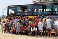 Busreisen mit netten Leuten in originellen Bussen