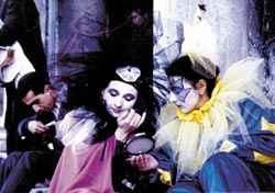Kostüme beim Karneval Venedig