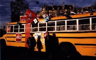 ... als Weihnachtspacket für RTL 2 in Paris 1997