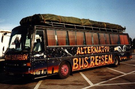 Graffiti-Bus 'Night-Liner'
