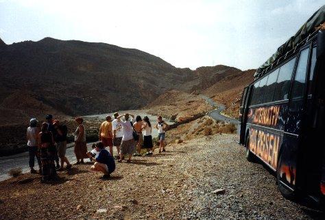 Graffitibus 'Night-Liner' in Marokko