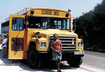Der Schulbus on Tour