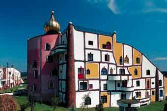 Hundertwasser-Architekturprojekt, Rogner Bad Blumau